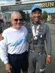 Post race Leadville with Curt Ormond