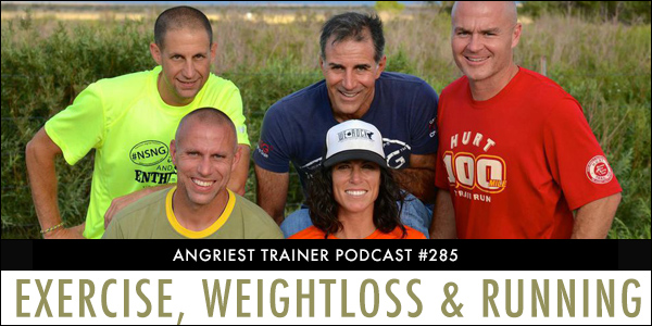 Angriest Trainer 285: Tony Portera, Badwater, Running & Weightloss