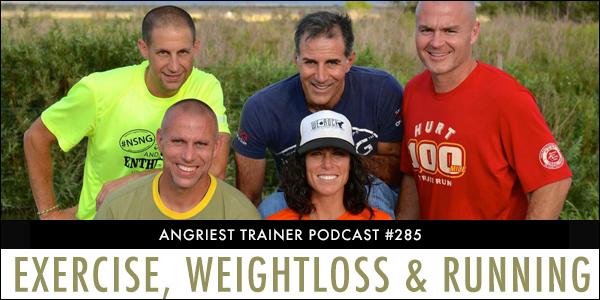 Angriest Trainer 285: Tony Portera, Badwater, Running & Weightloss