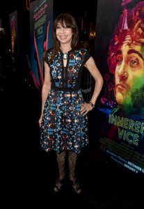 Illeana Douglas at the Inherent Vice premiere