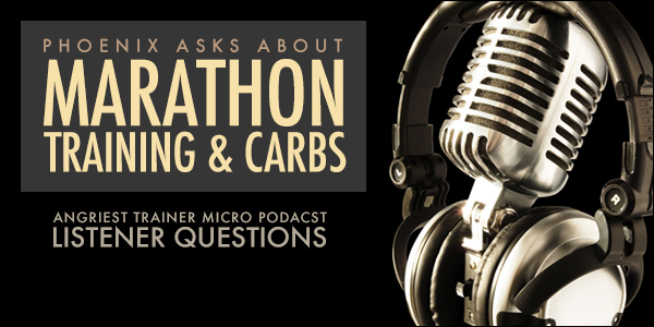 Nutrition, Carbs and Training for a Marathon