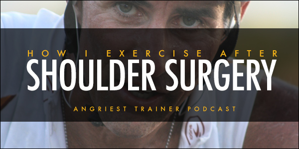 How I Exercise After Shoulder Surgery