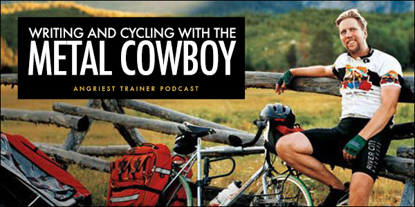 Writing and Cycling with The Metal Cowboy