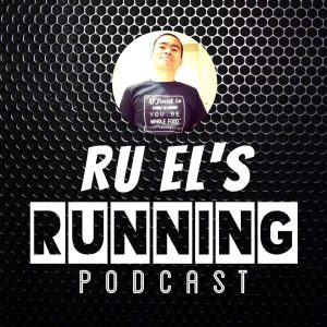 Ru El's Running Podcast Logo