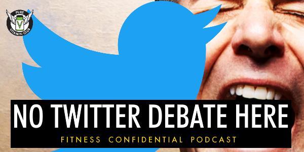 No Twitter Debate Here