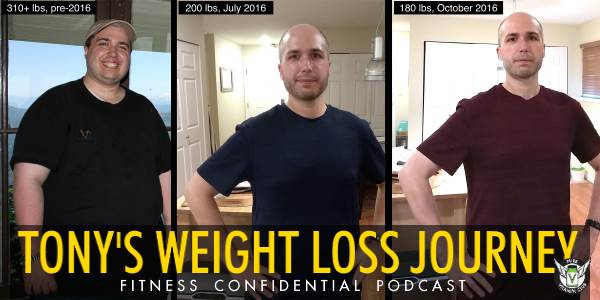 Episode 696 - Tony's Weight-Loss Journey