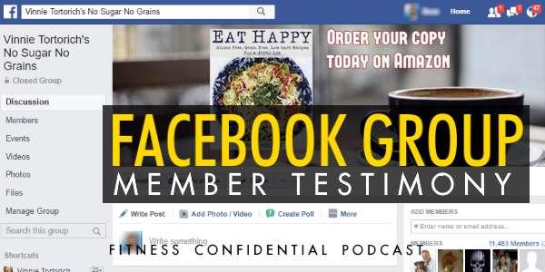 NSNG Facebook Group Member Testimony