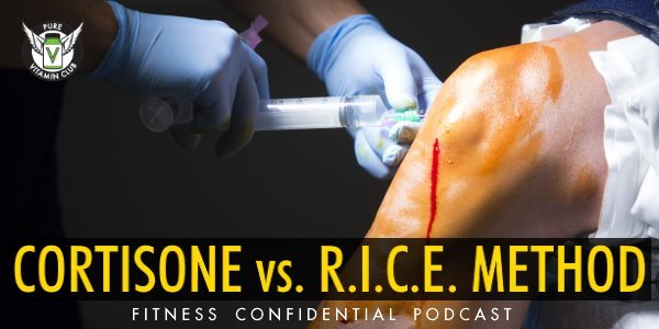 Cortisone vs. the R.I.C.E Method – Episode 730