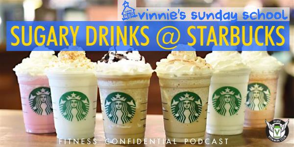 Episode 789 - Starbucks Sugary Drinks
