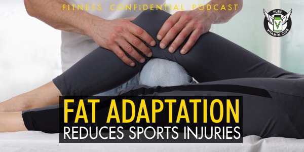 Fat Adaptation Reduces Sports Injuries – Episode 805