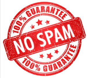 No spam ever!