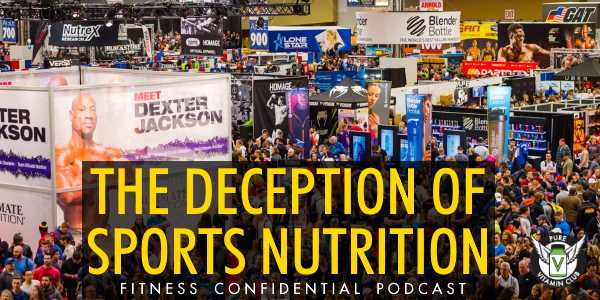 The Deception of Sports Nutrition – Episode 932