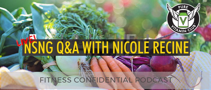 Live NSNG Q&A with Nicole Recine – Episode 947