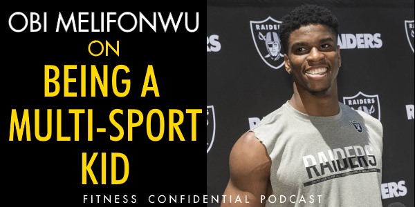 Episode 952 - Obi Melifonwu On Being a Multi-Sport Kid