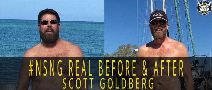 No Sugar No Grains #NSNG – REAL Before and After Stories-Scott Goldberg