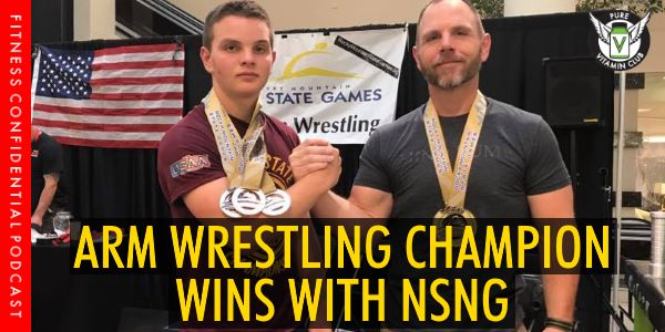 Arm Wrestling Champion Wins With NSNG – Episode 993